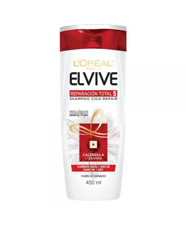 L'Oreal Elvive Shampoo Reparación Total